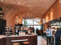 Salle de café-restaurant pour consommer responsable