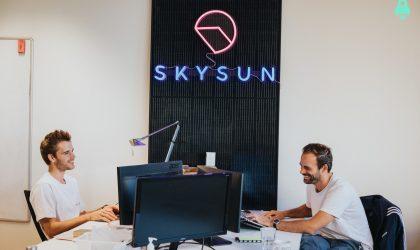 Shooting photo Skysun pour Meet My Job